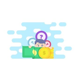 Passive income illustration