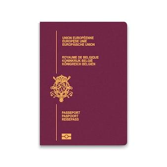 Passport of belgium