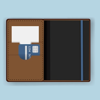 Passport holder cover equipment