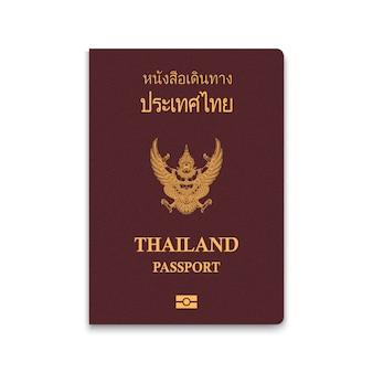 Passport of thailand