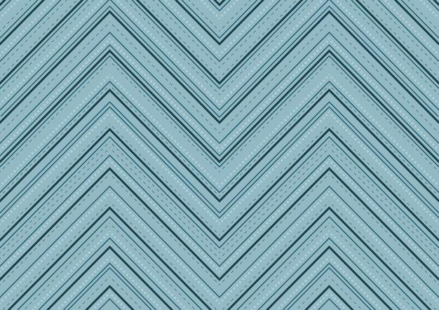 線と破線からのパターンを持つパステルブルーの背景