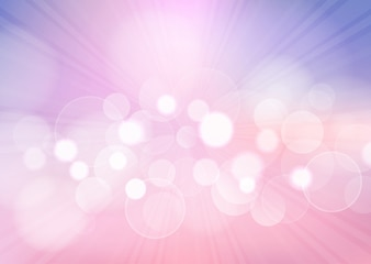 Pastel bokeh lights background