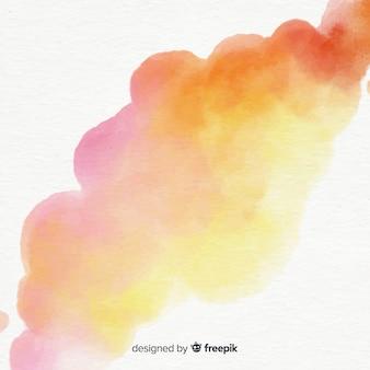 Fondo della macchia dell'acquerello di colore pastello