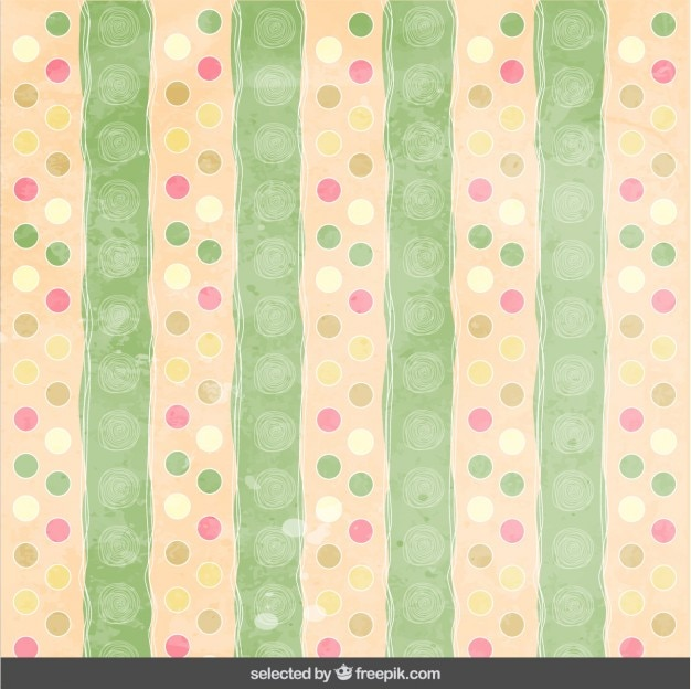 Pastel dotted pattern