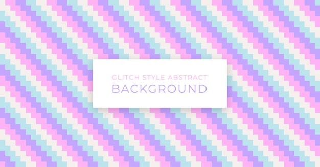 Pastel glitch style abstract background