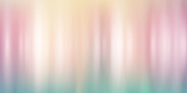 Pastel gradient banner