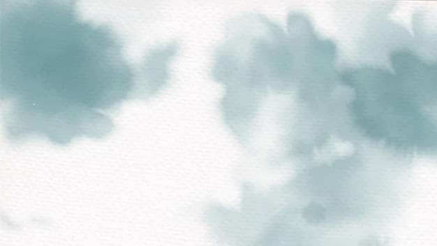 Пастельные зеленые красочные акварель всплеск на бумажном фоне