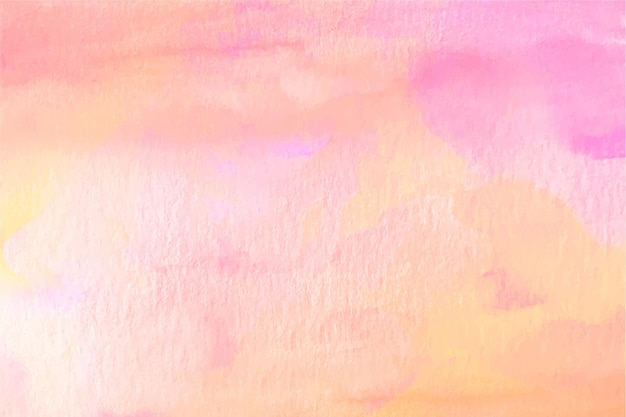 Pastel orange and pink watercolour background