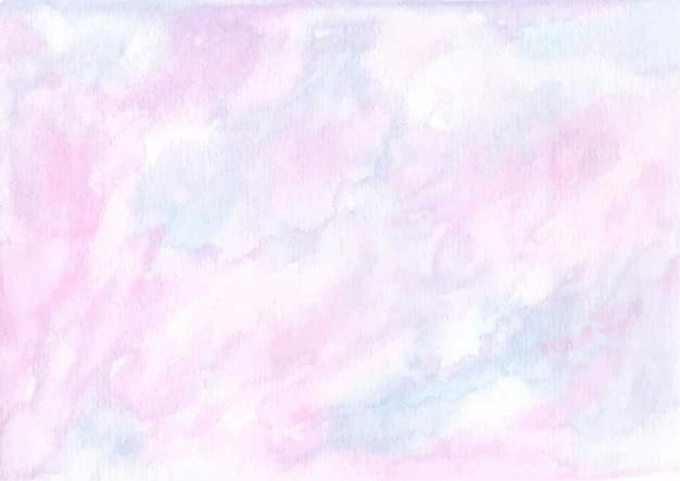 Пастельный розовый синий абстрактная акварель текстура фон