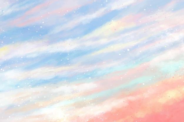 Пастельный фон неба