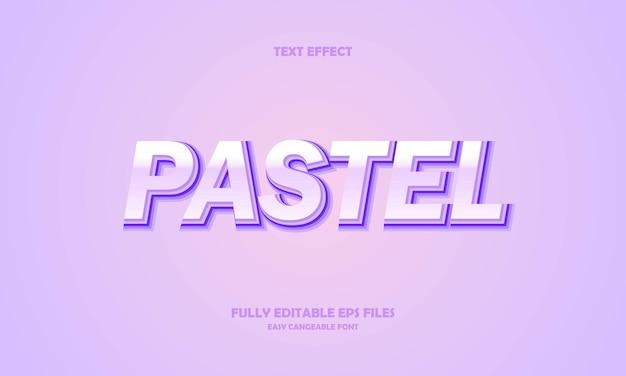 Pastel text effect