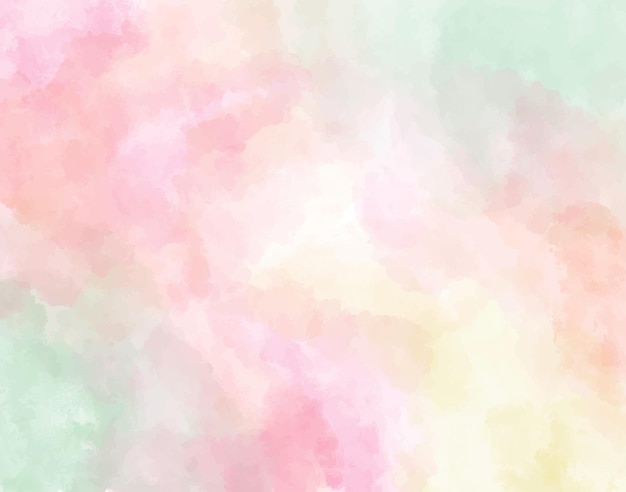 Pastel watercolor abstract background