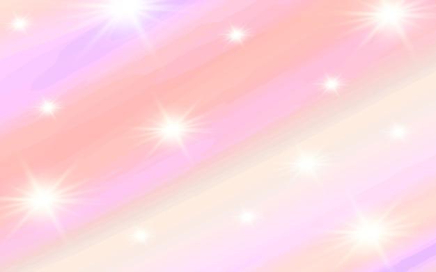 明るい背景のパステル水彩