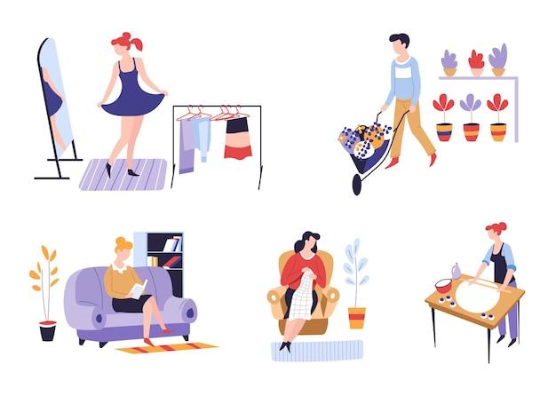 娯楽または趣味および余暇活動