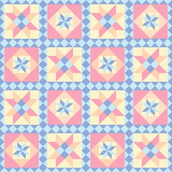 Patchwork seamless pattern.  abstract background.