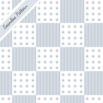 Patchwork seamless pattern premium vector