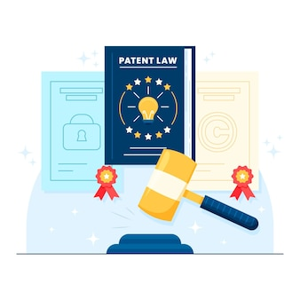 Patent law illustration