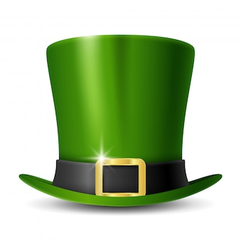 Patrick's day leprechaun's green hat