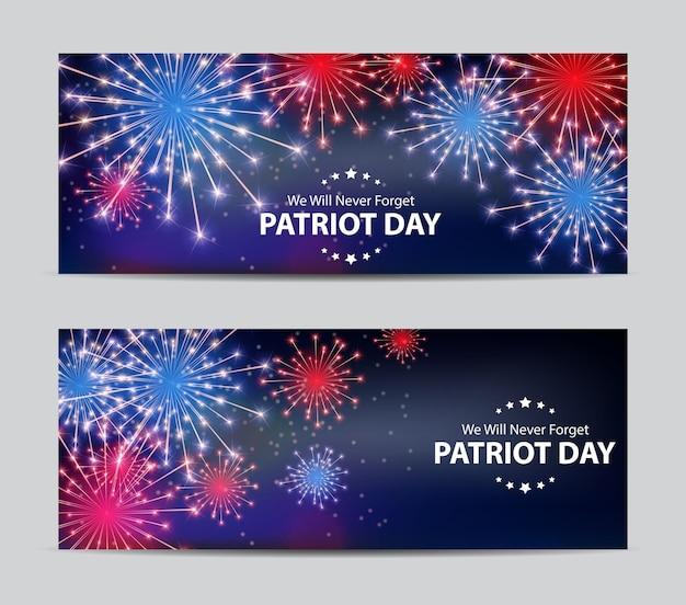Patriot day background. september 11 poster. we will never forget. vector illustration eps10