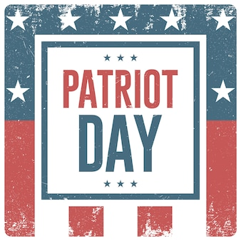 Patriot day background. vector flyer, banner, poster