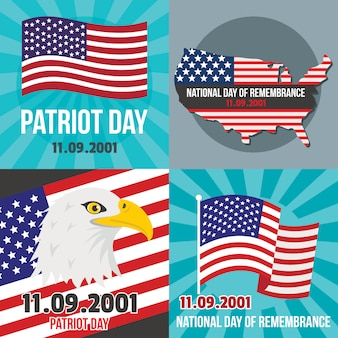 Patriot day september memorial
