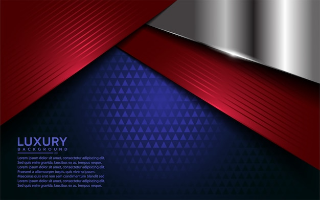 Patriot modern background with overlap layer
