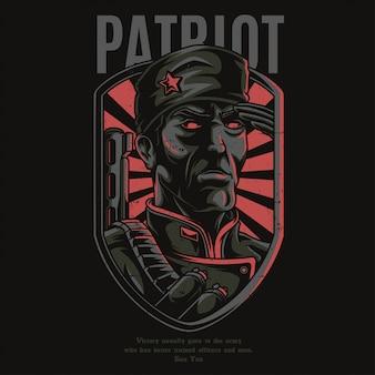 Patriot soldier