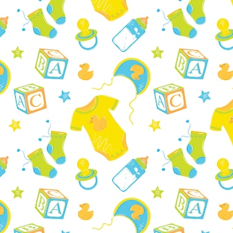 Pattern baby clothes