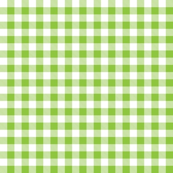 Pattern background with green checked plaid design