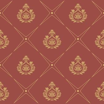 Pattern in baroque style. elegance wallpaper decor
