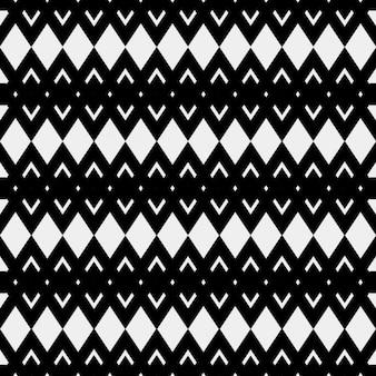 민족 스타일의 흑백 패턴