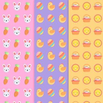 Pattern collection for easter day