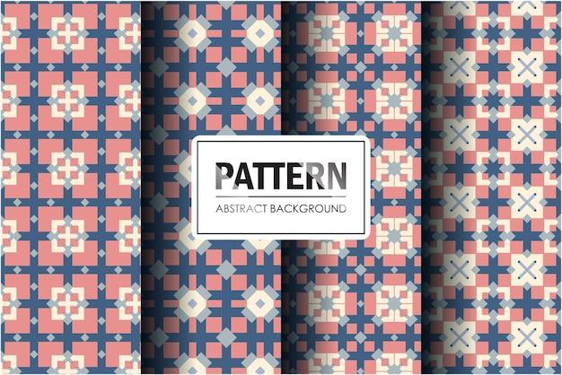 Коллекция шаблонов в абстрактном декоративном стиле