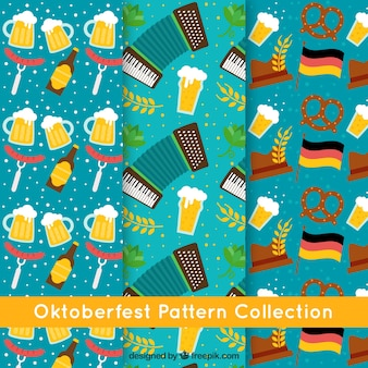 Pattern collection for oktoberfest party