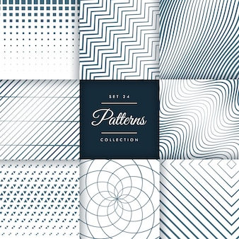 Pattern collection set 24
