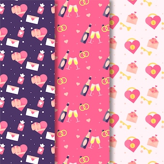 Pattern collection for valentine day