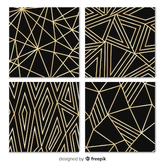 Pattern collection with geometric shapes