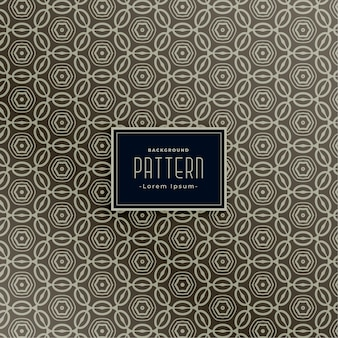 Pattern design for classic fabric design