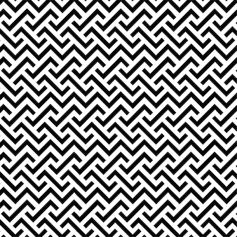 Pattern design geometric seamless line background black and white