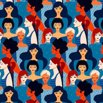 Pattern design for womens day