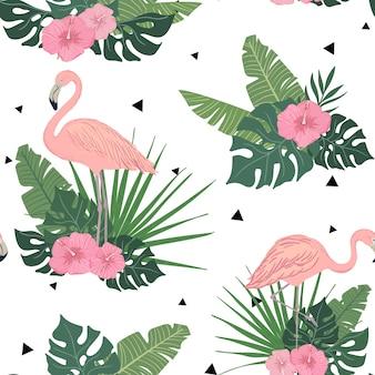 Pattern of flamingo