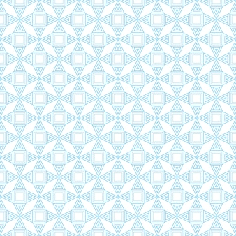 Pattern geometric line seamless from triangle and square. blue and white striped abstract