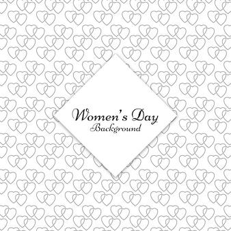 Le donne del cuore di giorno simbolo di fondo del modello