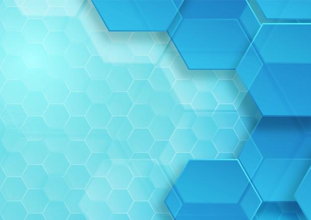 Узор шестиугольника фон аннотация