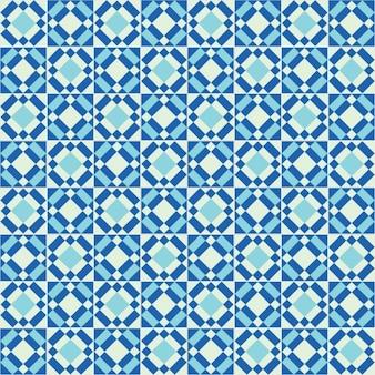 Pattern di piastrelle blu