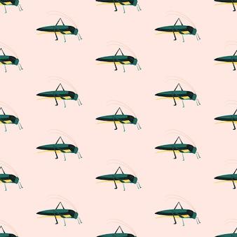 녹색 메뚜기의 패턴입니다.