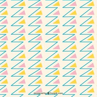 線や三角形のパターン