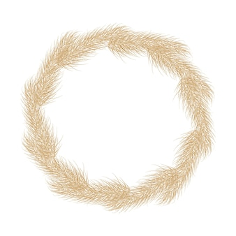 Узор пампасов сухой травы бохо филиал бесшовный фон пампасы трава метелка перо голова