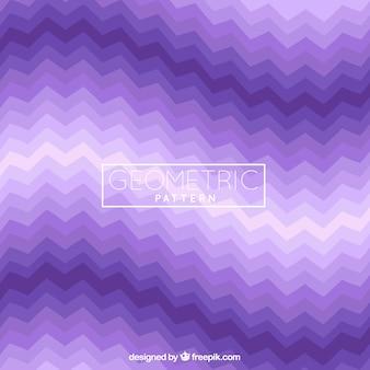 紫色の幾何学的形状のパターン