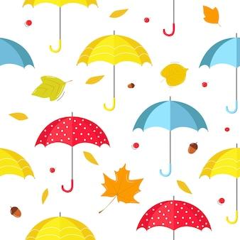 Узор из зонтиков.